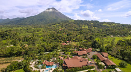 Vogelperspektive des Arenal Springs Hotel in Arenal, Costa Rica