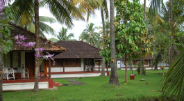 Enchantin Travels - South India Tours - Kumarakom - Coconut Lagoon - Terrace