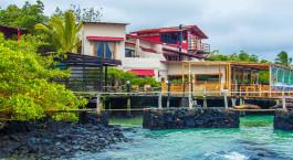 Auu00dfenansicht vom Hotel Galapagos Habitat, Santa Cruz in Ecuador/Galapagos