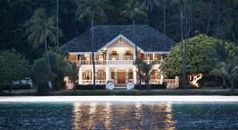 Auu00dfenansicht von Cape Panwa Hotel, Phuket, Thailand
