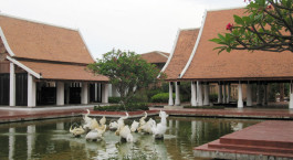 Auu00dfenansicht im Hotel Sukothai Heritage Resort, Sukhothai, Thailand