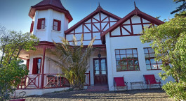 Outside view of El Pederal Lodge, Puerto Madryn Hotels , Argentina Tours, South America