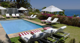 Pool des The Clarendon Bantry Bay in Kapstadt, Su00fcdafrika