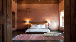 Doppelzimmer im El Fenn Hotel in Marrakesch, Marokko