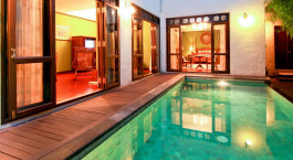 Privater Pool im Puripunn-baby Grand Boutique Hotel in Chiang Mai, Thailand