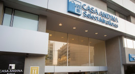 Entrance at Casa Andina Select Miraflores in Peru, Lima