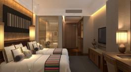 Zimmer im Hotel Qomo Langzong Hotel, Shigatse in Tibet
