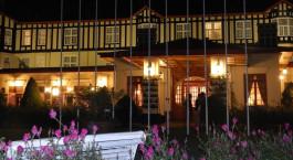 Auu00dfenansicht von Grand Hotel in Nuwara Eliya, Sri Lanka