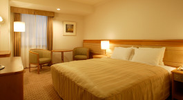 Doppelzimmer im Hotel Shiba Park 151, Tokio, Japan