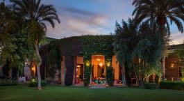 Auu00dfenansicht von Dar Zemora Hotel in Marrakesch, Marokko