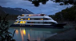 Auu00dfenansicht der Santa Cruz Cruise by Marpatag in El Calafate, Argentinien