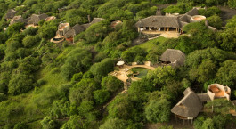 Overview von Hotel  Ol Donyo Lodge in Chyulu Hills, Kenya