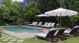 Pool im River Manor Boutique & Spa Hotel in Winelands, Su00fcdafrika