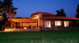 Auu00dfenansicht King's Lodge Bandhavgarh Indien