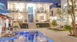 Auu00dfenansicht vom Hotel Ikala,  Santa Cruz in Ecuador/Galapagos