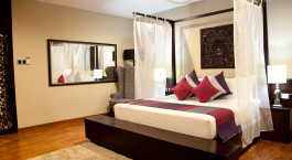 Schlafzimmer im Uga Bay Resort, Pasikudah, Sri Lanka