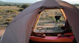 Mobiles Gu00e4stezelt, Karisia Expeditions Bush Camp in Laikipia - Wandersafari, Kenia