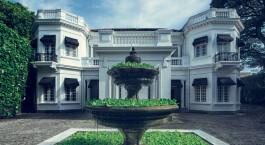 Auu00dfenansicht im Tintagel Hotel in Colombo, Sri Lanka