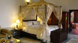 Double room at La Maison Bleue in Fes, Morocco