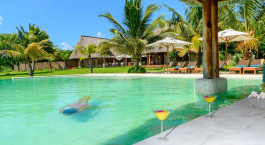 Pool im Bahia Mar Boutique Hotel in Bazaruto - Vilanculos, Mosambik