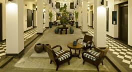 Lobby im Maison Vy, Hoi An Hotel, Hoi An, Vietnam