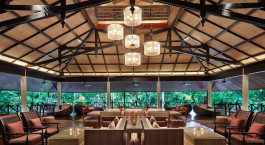Lobby im Mulu Marriott Resort & Spa Hotel in Mulu, Malaysia