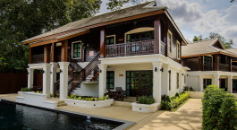 Auu00dfenansicht des Na Nirand Romantic Boutique Resorts in Chiang Mai, Thailand