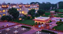 Gartenanlage Taj Jai Mahal Palace Jaipur Indien