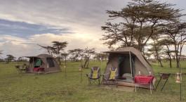 Auu00dfenansicht, Fly Camp in Masai Mara, Kenia