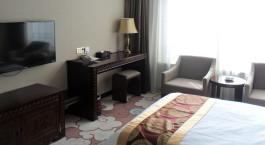 Doppelzimmer im Tangka Lhasa Hotel in Lhasa, Tibet