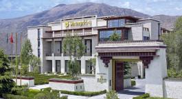 Auu00dfenansicht von Shangri-La Hotel, Lhasa in Lhasa, Tibet