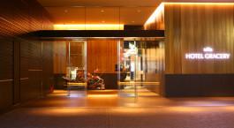 Eingangsbereich von Hotel Gracery Shinjuku, Tokio in Japan