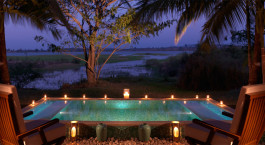 Swimmingpool im The Serai Kabini in Nagarhole, Su00fcdindien