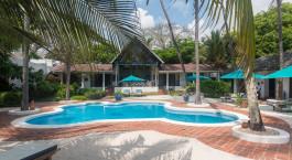 Pool im Diani Blue Hotel, Su00fcdku00fcste, Kenia