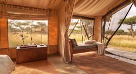 Zelt im Naboisho Camp in Masai Mara, Kenia