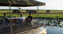 Auu00dfenansicht im  Chobe Game Lodge in Chobe National Park, Botswana