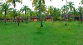 Auu00dfenansicht von Nattika Beach Resort in Nattika, Su00fcdindien
