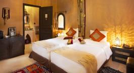 Zweibettzimmer im Riad Ksar Ighnda in Ouarzazate, Marokko