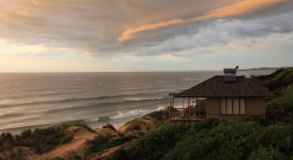Unterkunft am Strand im Blue Footprint Eco Lodge in Inhambane, Mosambik