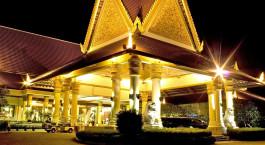 Auu00dfenansicht im Hotel Sokha Beach Resort, Sihanoukville in Kambodscha