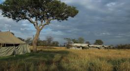 Auu00dfenansicht des Udzungwa Forest Tented Camp in Udzungwa, Tansania