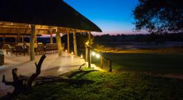 Auu00dfenansicht im Hotel Inyati Game Lodge in Kruger, Su00fcdafrika