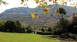 Auu00dfenanlage des Cleopatra Mountain Farmhouse in Central & Northern Drakensberg, Su00fcdafrika