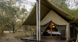 Auu00dfenansicht von Rhino Safari Camp in Lake Kariba & Matusadona, Simbabwe