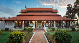 Restaurantauu00dfenansicht im Sriwilai Sukhotai Resort & Spa, Sukhothai, Thailand