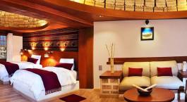 Zimmer im Hotel Palacio de Sal, Uyuni, Bolivien