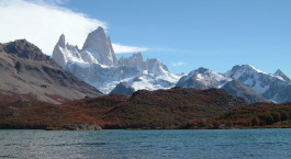 Auu00dfenansicht im Refugio Lago Condor, El Chaltu00e9n, Argentinien
