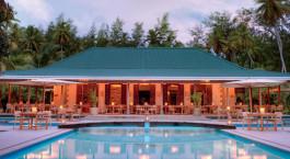 Pool at Desroches Island Resort Hotel in Desroches Island, Seychellen
