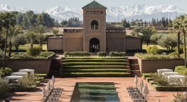 Auu00dfenansicht, Selman Marrakech Hotel in Marrakesch, Marokko