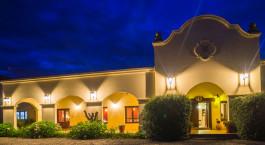 Auu00dfenansicht des Viu00f1as de Cafayate Wine Resort in Cafayate, Argentinien
